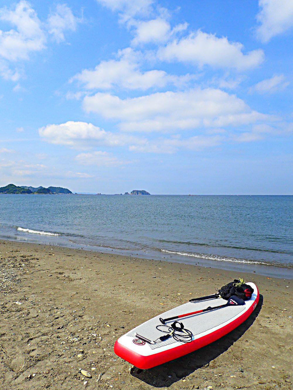内房の保田から富浦海岸まで。片道切符のショートツーリングである。